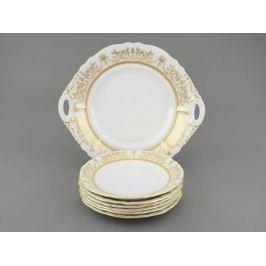Сервиз для торта Соната Золотая элегантность, 7 пр. 07161017-1373 Leander