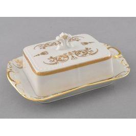 Масленка граненная Соната Золотая элегантность (0.25 кг) 07122315-1373 Leander