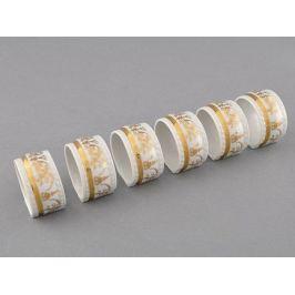 Набор колец для салфеток Соната Золотая элегантность, 6 пр. 07164612-1373 Leander