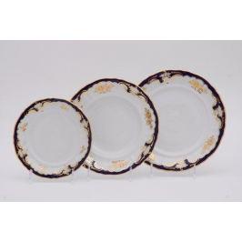 Набор тарелок Соната Золотой узор, 18 пр. 07160119-1457 Leander