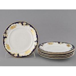 Набор тарелок мелких Соната Золотой узор, 25 см, 6 шт. 07160115-1457 Leander