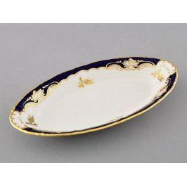 Блюдо овальное Соната Золотой узор, 23 см 07116125-1457 Leander