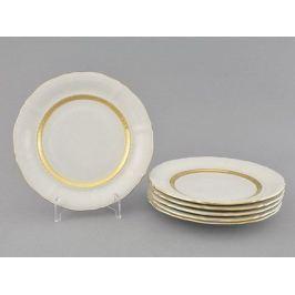 Набор тарелок десертных Соната Изящное золото, 19 см, 6 шт. 07160319-1239 Leander