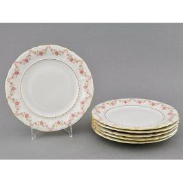 Набор тарелок десертных Соната Розовая нить, 19 см, 6 шт. 07160319-0158 Leander