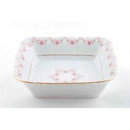 Салатник квадратный Соната Розовая нить, 17 см 07111422-0158 Leander