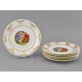 Набор тарелок десертных Соната Пастораль, 19 см, 6 шт. 07160319-0676 Leander