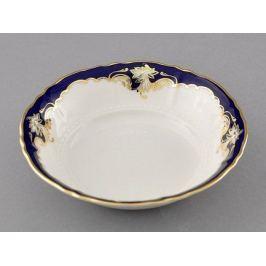 Салатник круглый Соната Темно-синяя окантовка с золотом, 16 см 07111413-1357 Leander