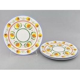 Набор тарелок мелких Сабина Фруктовые сады, 30 см, 3 шт. 02131313-2410 Leander