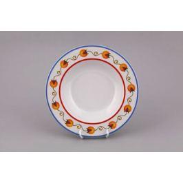 Набор тарелок глубоких Сабина Фруктовые сады, 23 см, 6 шт. 02160223-2410 Leander