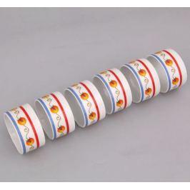 Набор колец для салфеток Сабина Фруктовые сады, 6 шт. 02164611-2410 Leander