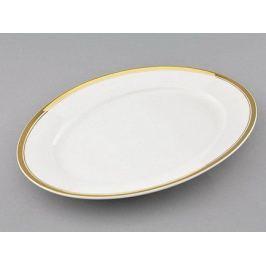 Блюдо овальное Сабина Изящное золото, 32 см 02111522-0511 Leander