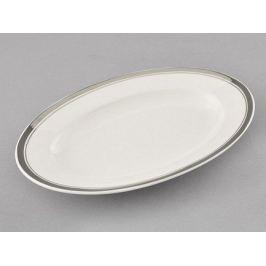 Блюдо для гарнира овальное Сабина Изящная платина, 22 см 02111735-0011 Leander
