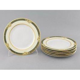 Набор тарелок мелких Сабина Золотые фрукты, 25 см, 6 шт. 02160125-0711 Leander