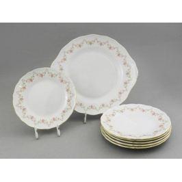 Сервиз для торта Верона Розовая нить, 7 пр. 67161017-0158 Leander