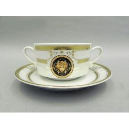 Набор чашек для супа Сабина Золото Версаче (0.3 л), 6 шт 02160673-A126 Leander