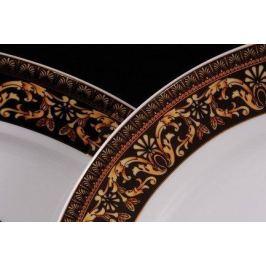 Набор тарелок мелких Сабина Версаче Классик, 25 см, 6 шт. 02160125-172B Leander