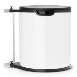 Ведро для мусора (15 л) встраиваемое, 30.2х34.7х29.3х30 см, белое 428081 Brabantia