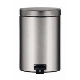 Ведро для мусора с педалью (3 л), 25х17х23.5 см, матовое стальное 348945 Brabantia