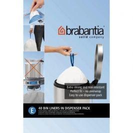 Пакет пластиковый, размер E (20 л), белый, 40 шт., в упаковке 362002 Brabantia