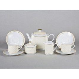 Сервиз чайный Сабина Золотая элегантность, 15 пр. 02160725-243D Leander