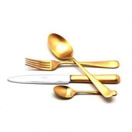 Набор столовых приборов Atlantico Gold, матовые, 24 пр. 9202 Cutipol