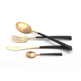 Набор столовых приборов Noor gold, матовые, 24 пр. 9282 Cutipol