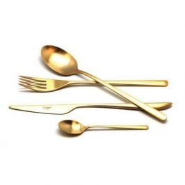 Набор столовых приборов Icon gold, матовые, 24 пр. 9252 Cutipol