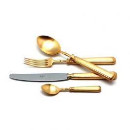Набор столовых приборов Piccadilly gold, матовые, 24 пр. 9142 Cutipol