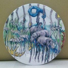 Тарелка для торта Сабина Сафари, 27 см 02111027-0015 Leander