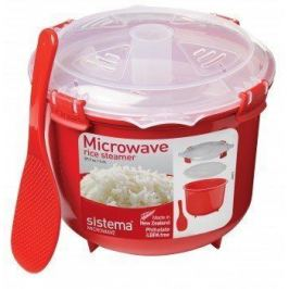 Рисоварка Microwave (2.6 л), 21.6х19.5х16.1 см, красная 1110 Sistema