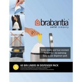 Пакет пластиковый, размер A (3 л), белый, 60 шт., в упаковке 348983 Brabantia