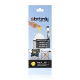 Пакет пластиковый, размер A (3 л), белый, 20 шт. 311727 Brabantia