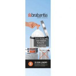 Пакет пластиковый, размер B (5 л), белый, 20 шт. 311741 Brabantia