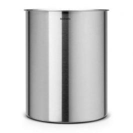 Корзина для бумаг (15 л), 26.2х32 см, матовая стальная 313387 Brabantia
