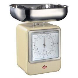Кухонные весы-часы Retro Style, слоновая кость 322204-23 Wesco