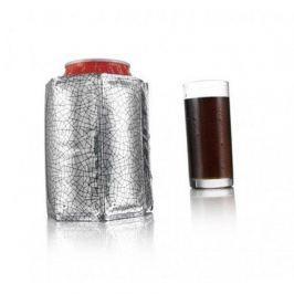 Охладительная рубашка Active Cooler Can Silver J-Hook 0.33 л 38835606 VacuVin