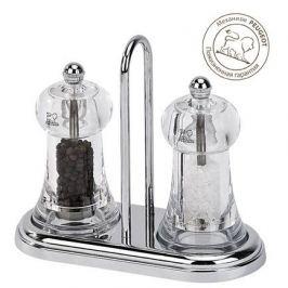 Набор мельниц для перца и соли на подставке Brasserie, 11 см 19051 Peugeot