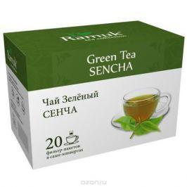 Ramuk чай зеленый в пакетиках, 20 шт