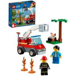 LEGO City 60212 Конструктор ЛЕГО Город Пожарные: Пожар на пикнике