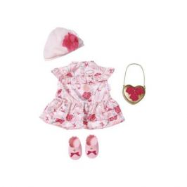 Zapf Creation Baby Annabell 702-031 Бэби Аннабель Одежда Цветочная коллекция Делюкс