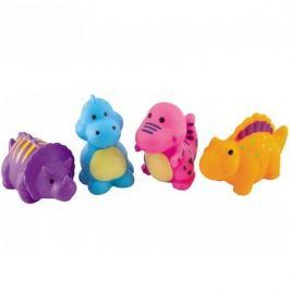 Canpol babies 250915007 Игрушки для ванны - динозавры, 4 шт, 12м+