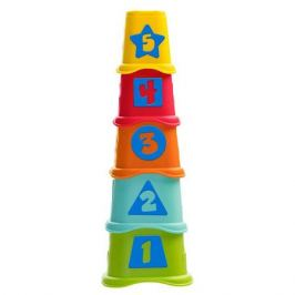 CHICCO TOYS 9373AR Пирамидка Stacking Cups