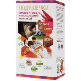 DI&Di подушечки амарантовые с шоколадной начинкой, со стевией, изготовленные методом экструзии, 250 г