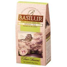 Basilur Spring Tea зеленый листовой чай, 100 г
