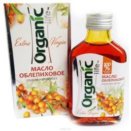 Organic Life масло облепиховое, 100 мл