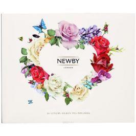 Newby From the Heart подарочный набор листового чая в пирамидках (4 вкуса), 20 шт