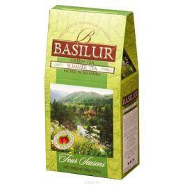 Basilur Summer Tea зеленый листовой чай, 100 г