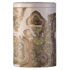 Basilur White Moon зеленый листовой чай, 100 г (жестяная банка)
