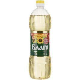 Благо масло подсолнечное рафинированное премиум сорт, 1 л