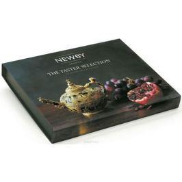 Newby The Taster Selection подарочный набор листового чая в пирамидках (4 вкуса), 20 шт